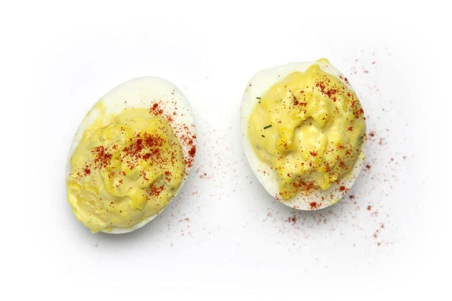 تخم مرغ های آّب پز؛ طراحی غذای کودک