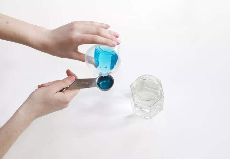 تهیه مایع حباب ساز