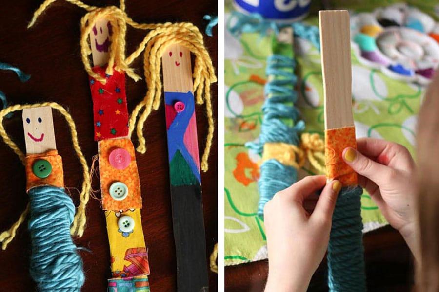 ساخت عروسک دست ساز
