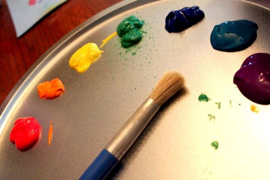 آموزش کشیدن رنگین کمان