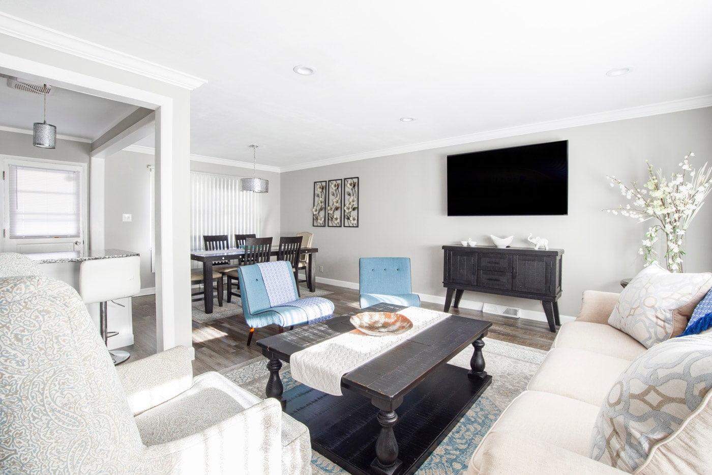 23 ایده ساده و کم هزینه برای چیدمان و دکوراسیون اتاق پذیرایی و نشیمن
