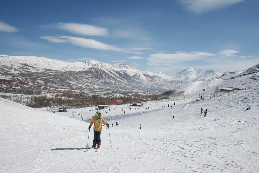 پیست اسکی آبعلی در ایران