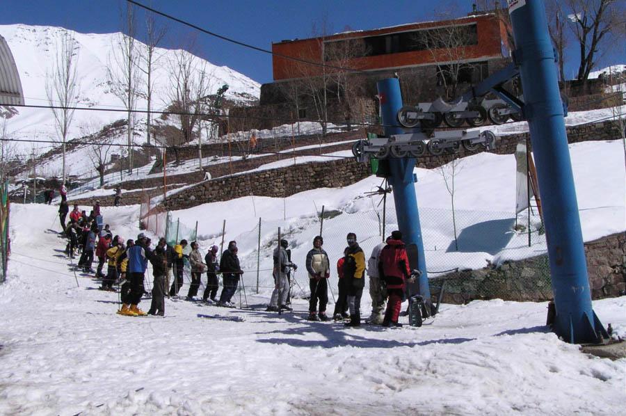 پیست اسکی شمشک در ایران