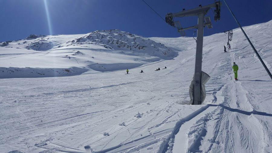 پیست اسکی فریدون شهر در ایران