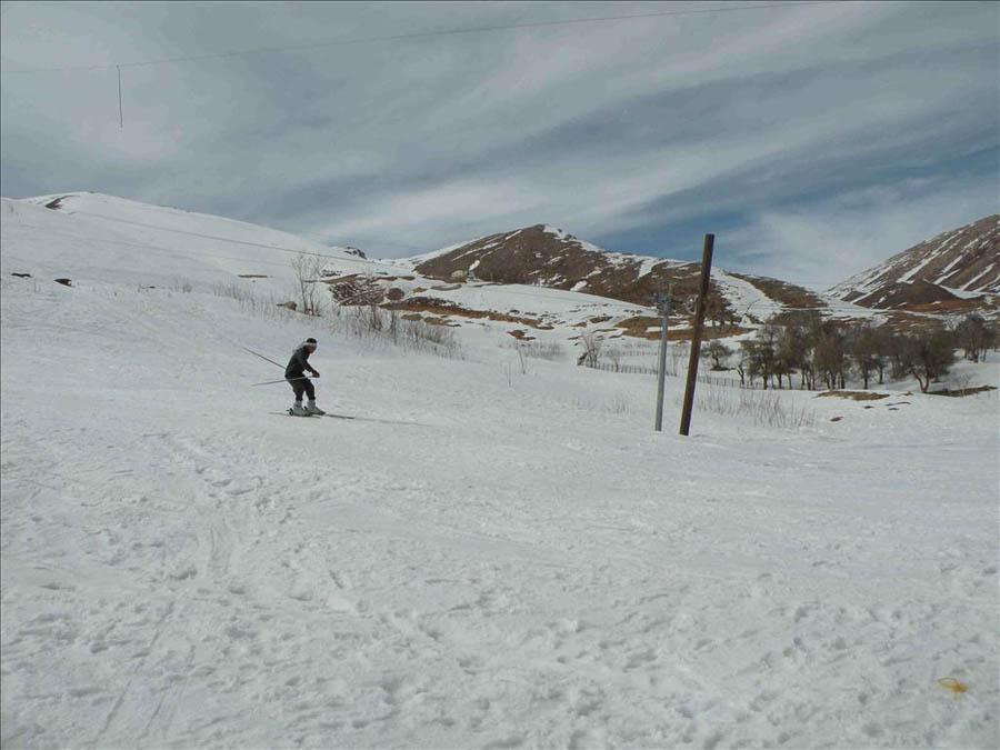 پیست اسکی چلگرد در ایران