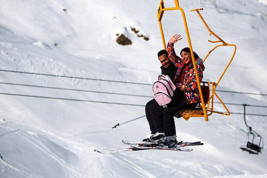 پیست های اسکی در ایران