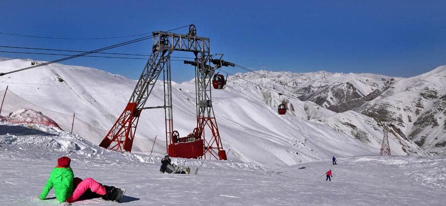 پیست اسکی دیزین در ایران