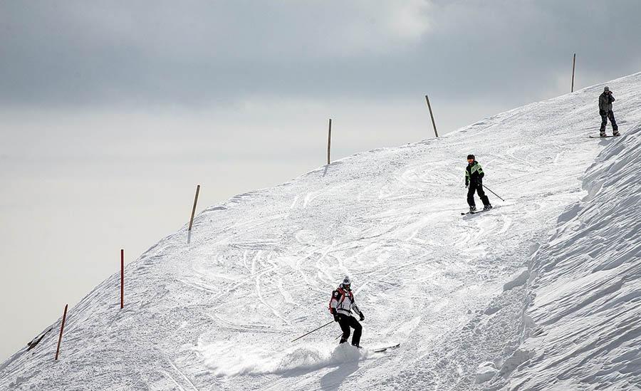 پیست اسکی دربندسر در ایران