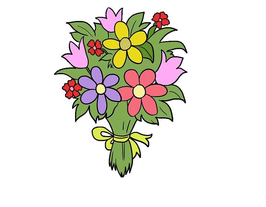 طراحی دسته گل