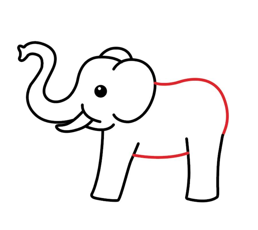طراحی بدن فیل