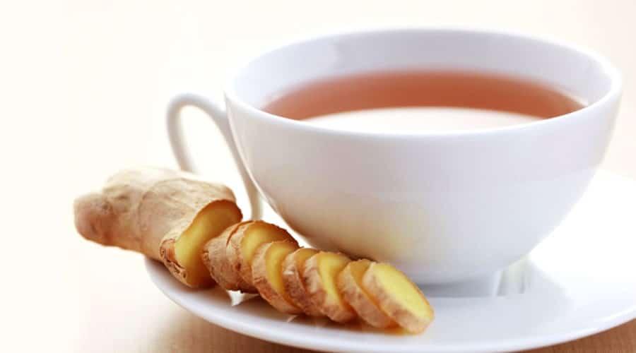 چای و زنجبیل