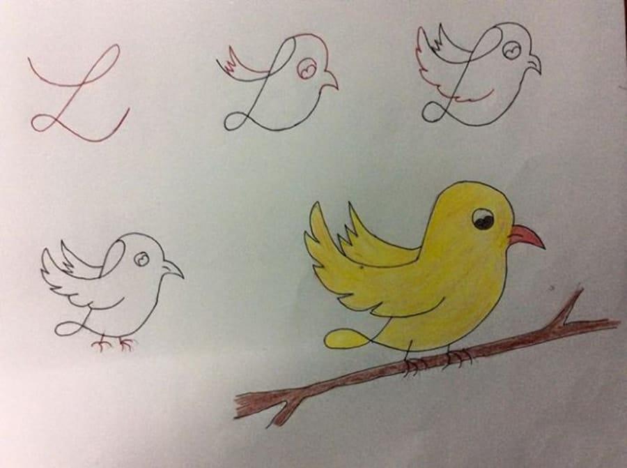نقاشی با حروف