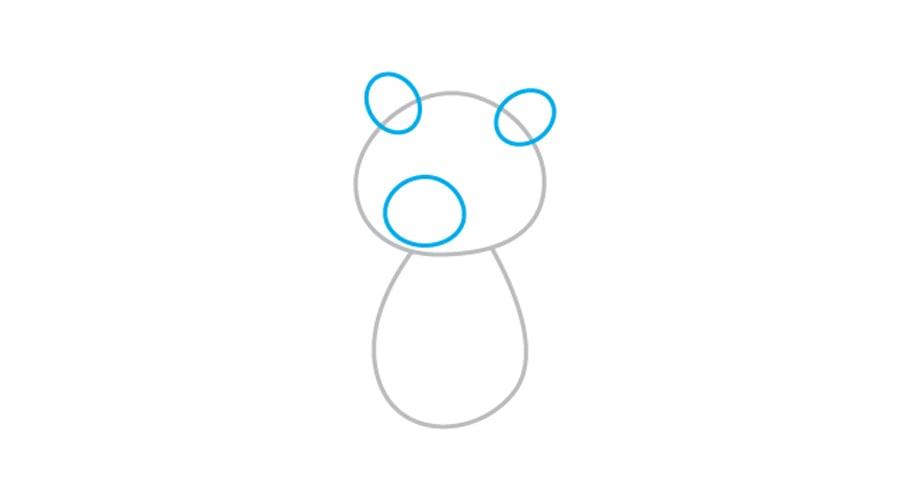 کشیدن گوش و پوزه خرس