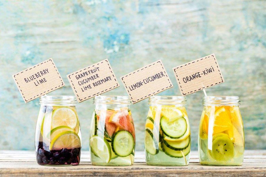 آب طعم دار به اضافه چند ترکیب پیشنهادی خوش طعم و دلچسب