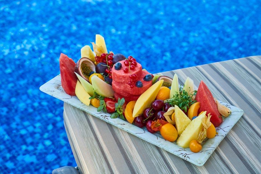 میوه های رنگی