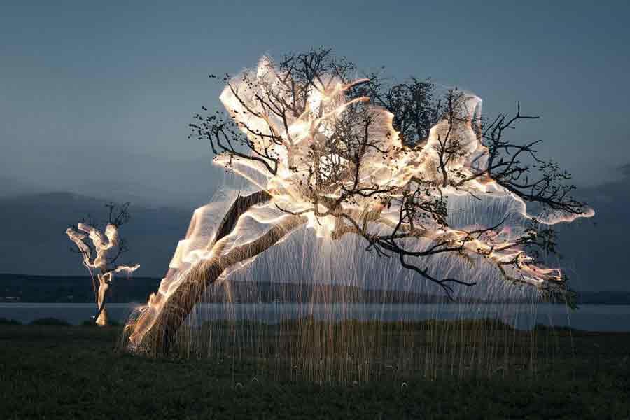 نقاشی با نور