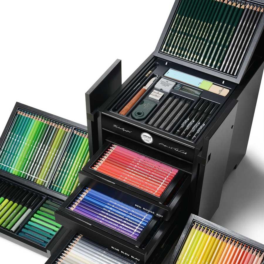 ست مدادرنگی فابرکاستل مدل Karl Box انتخابی خاص برای عاشقان طراحی و نقاشی
