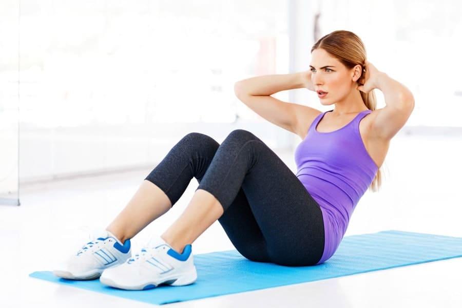 حرکت دراز نشست بهترین حرکت واسه کمر لاغر