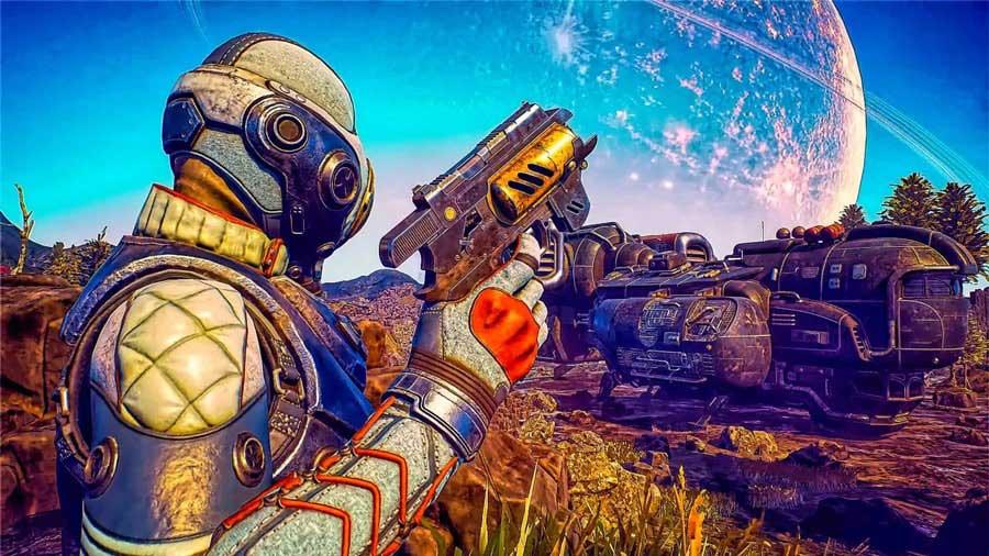 The Outer Worlds بهترین بازی های سال 2019