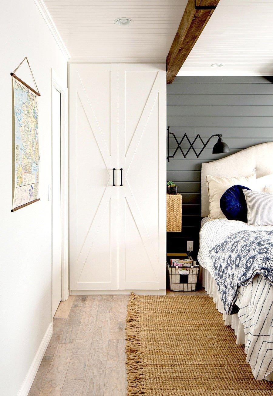 ذخیره سازی در اتاق خواب کوچک