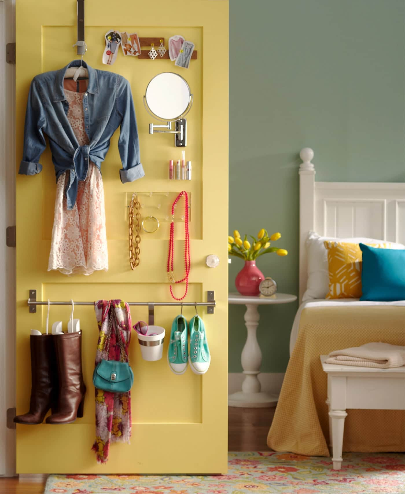 ذخیره سازی در اتاق خواب های کوچک
