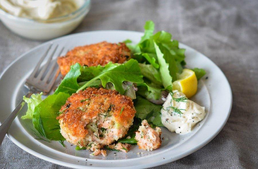 پلو ماهی سالمون