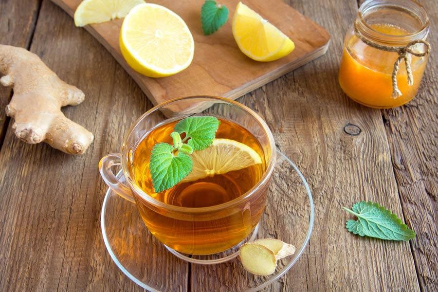 چای با لیمو