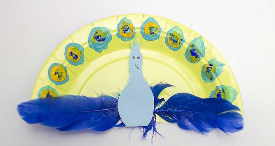 کاردستی طاووس