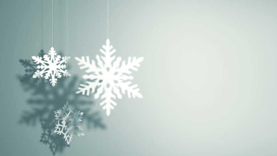 دانه برف کاغذی