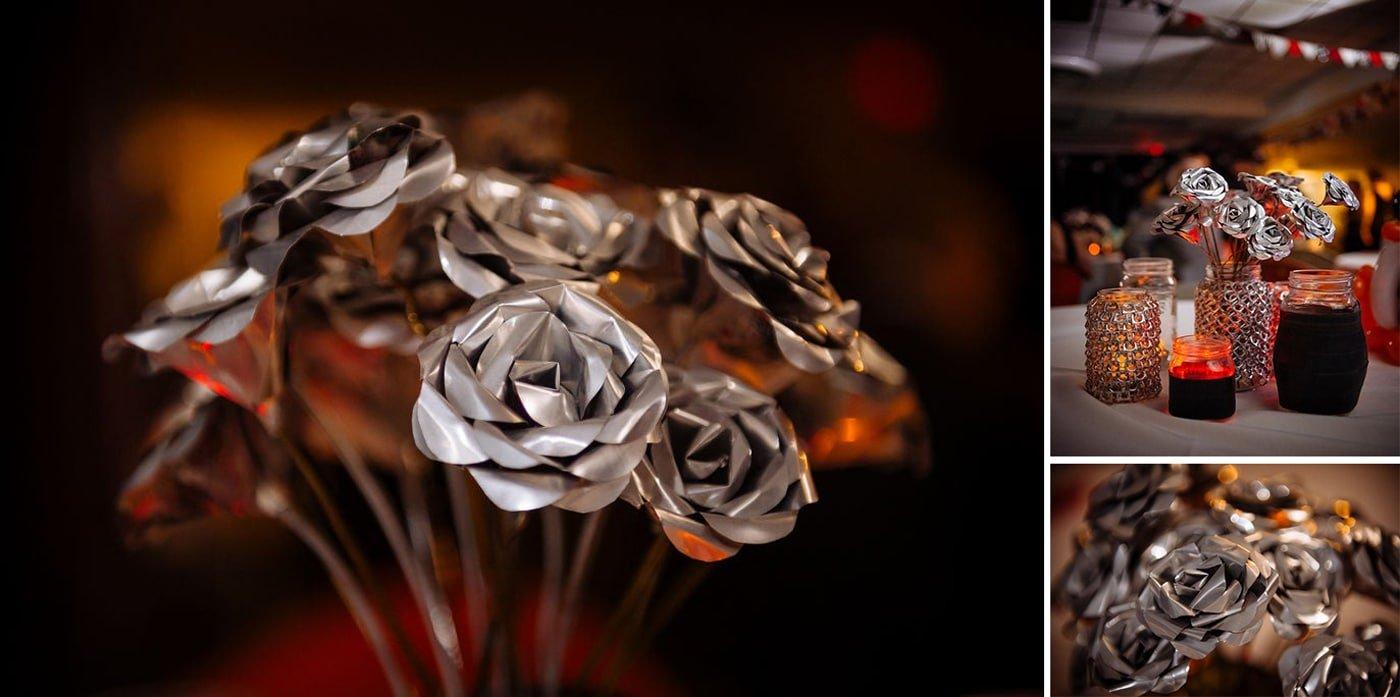 شاخه گل آلومینیومی و طرز ساخت