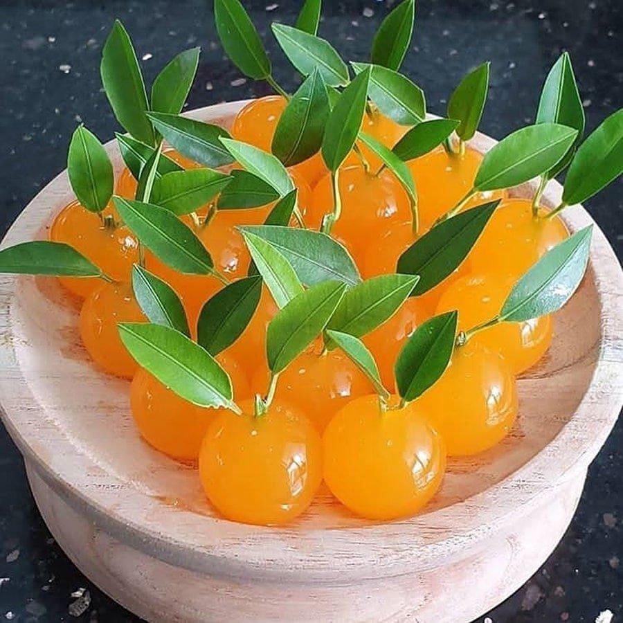 طرز تهیه ژله با آب پرتقال