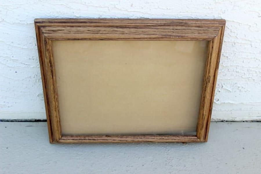 قاب چوبی برای درست ارگانایزر دیواری قاب دار