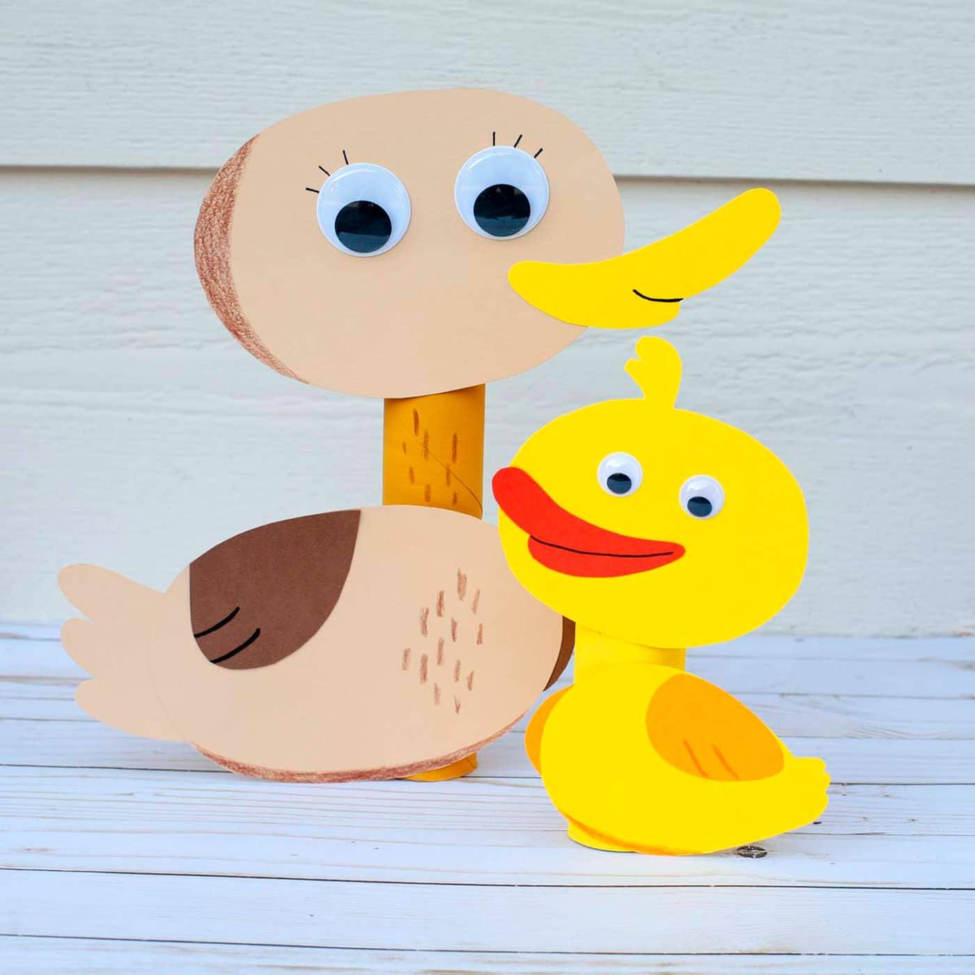 ساخت کاردستی اردک