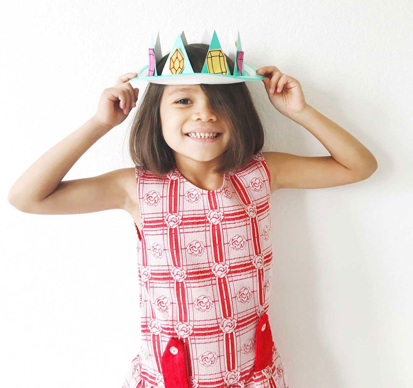 آموزش ساخت تاج کودکانه