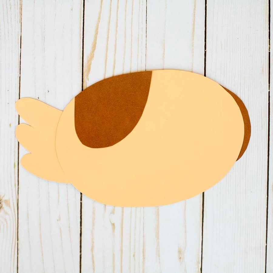 کاردستی اردک مادر