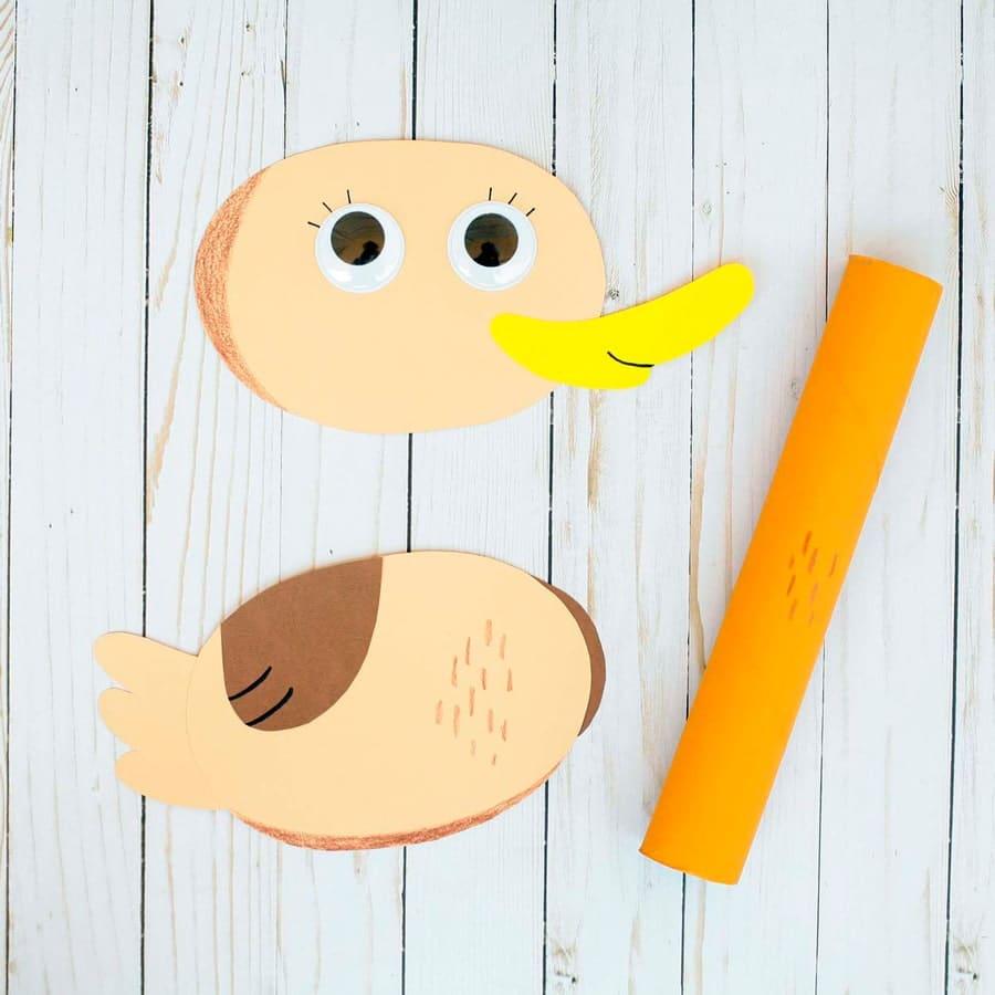 کاردستی اردک