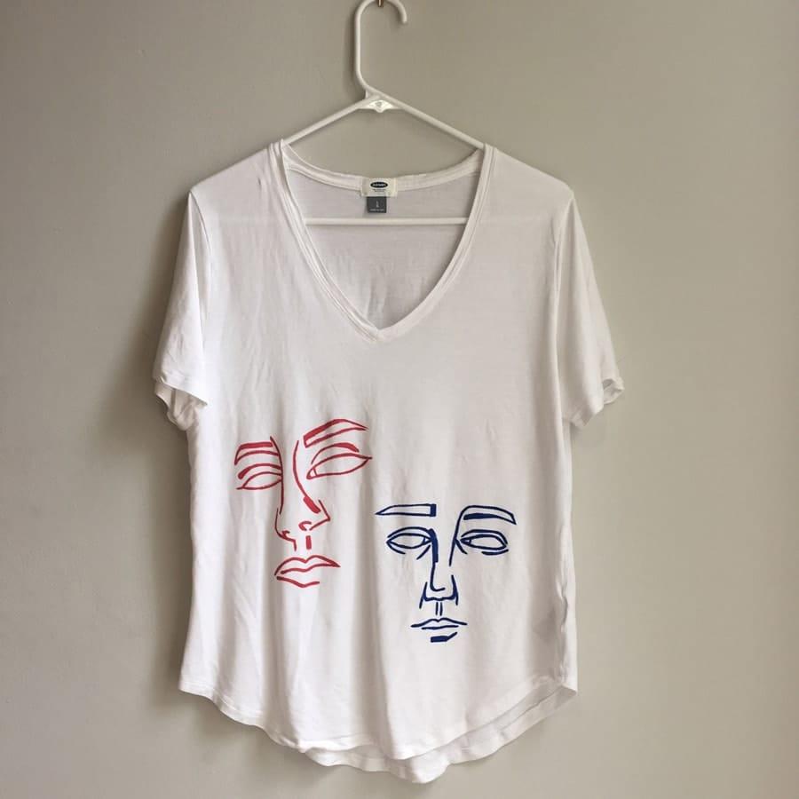 طرح اسان برای نقاشی روی تی شرت