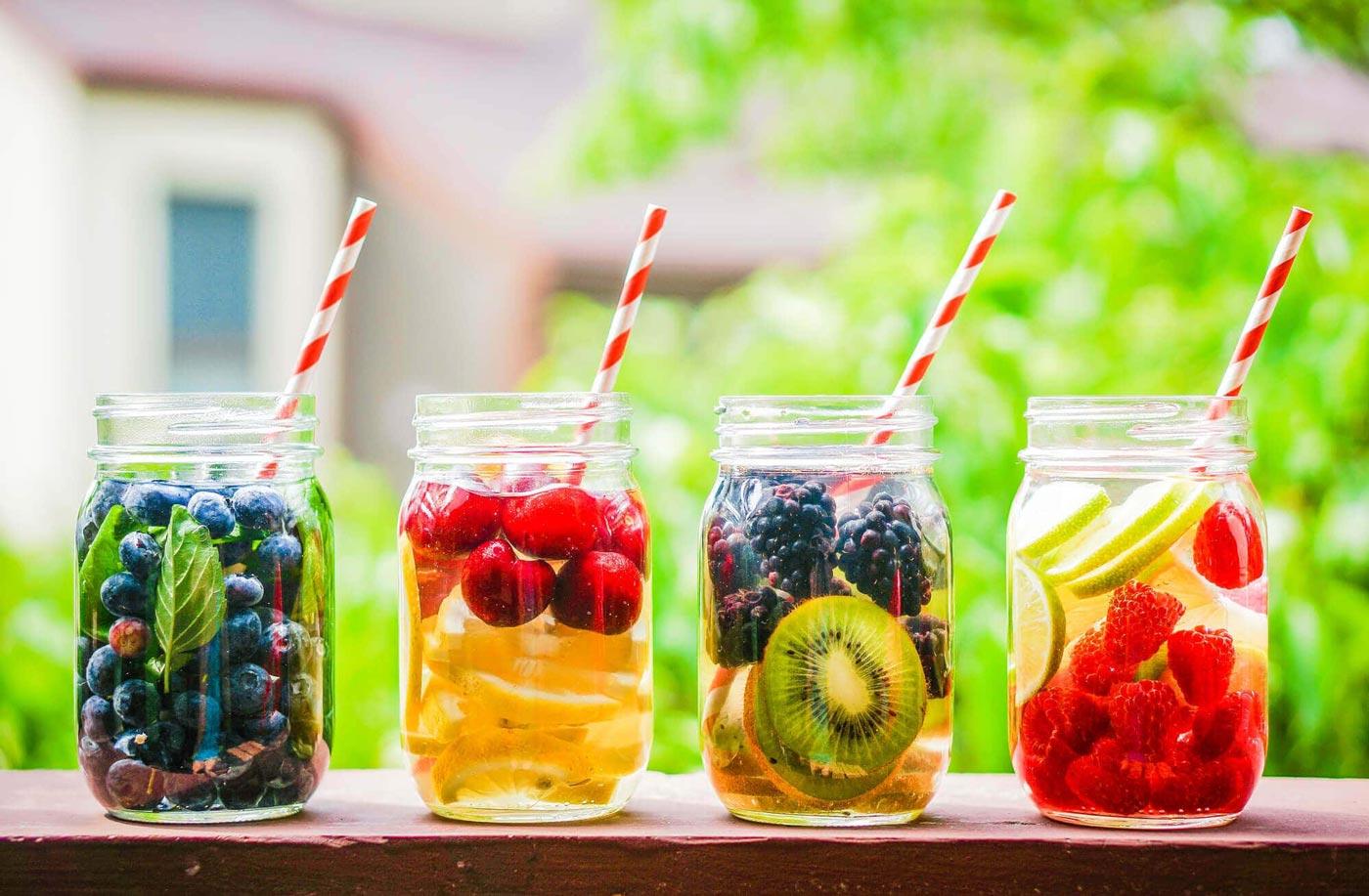 طرز تهیه دتاکس واتر یا آب طعم دار به اضافه چند ترکیب پیشنهادی خوش طعم و دلچسب