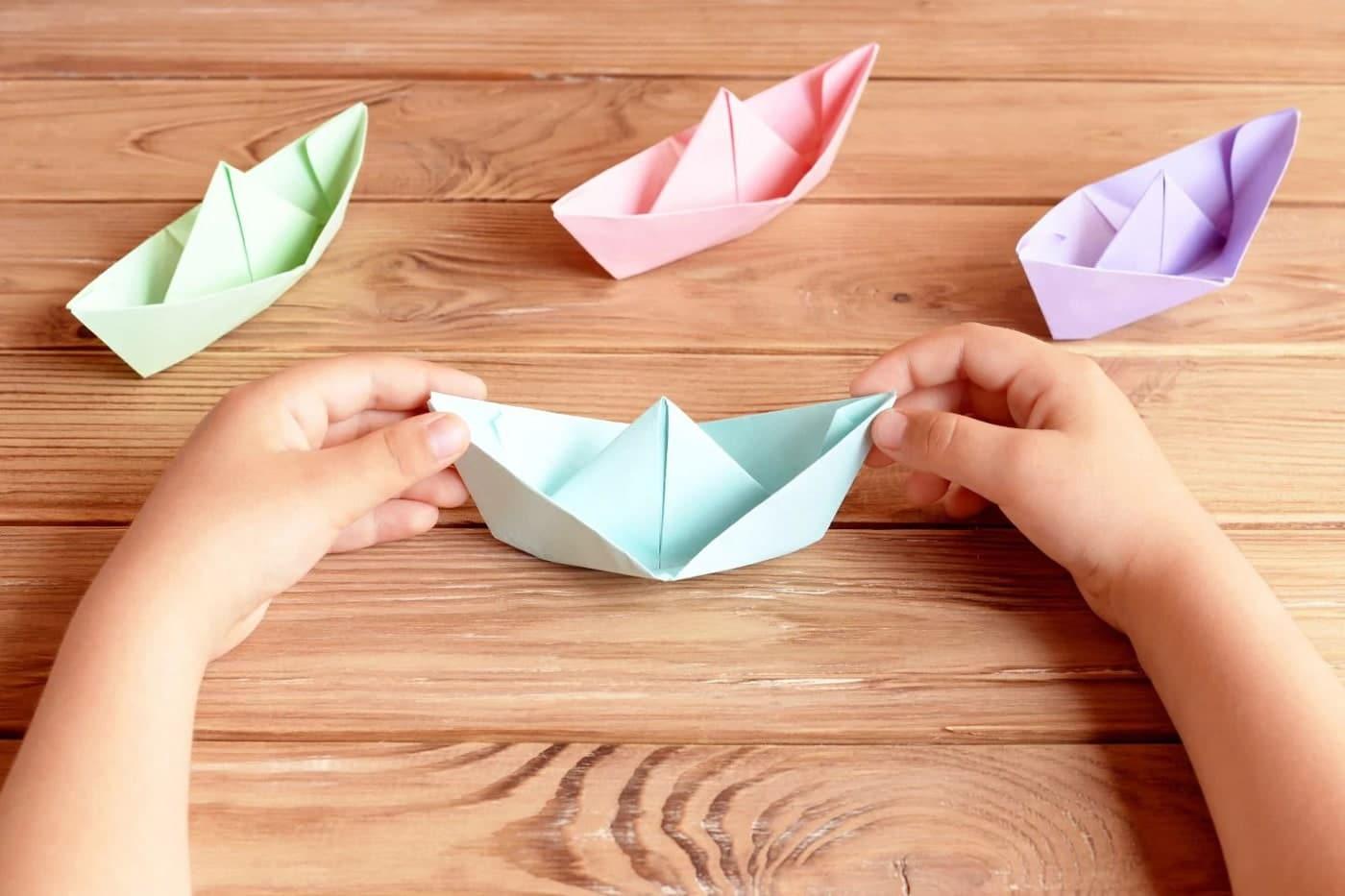 ساخت اوریگامی قایق