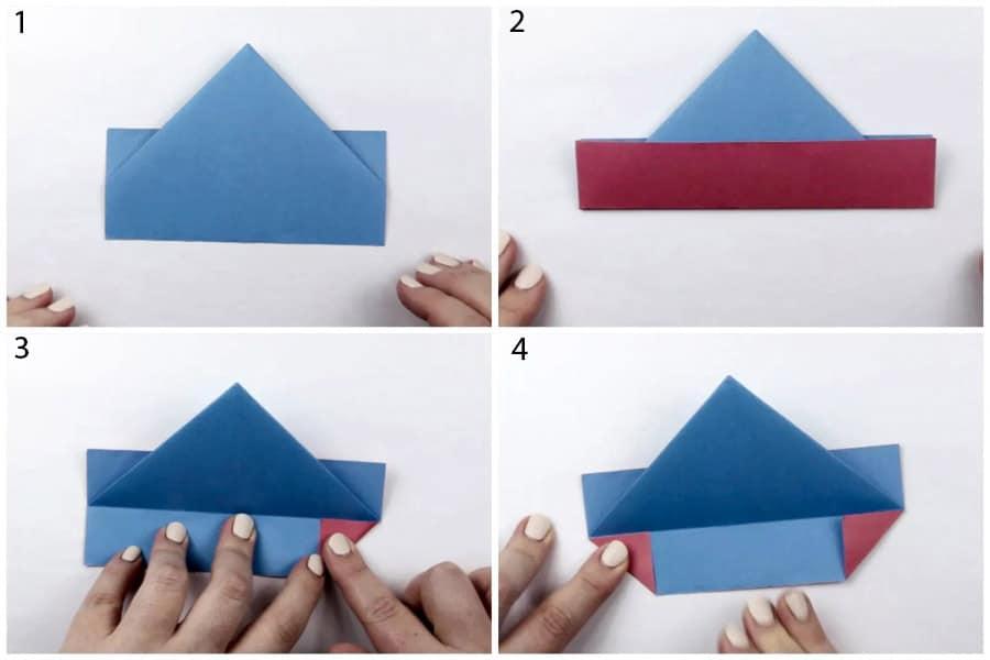 ساخت اوریگامی، رنگارنگ