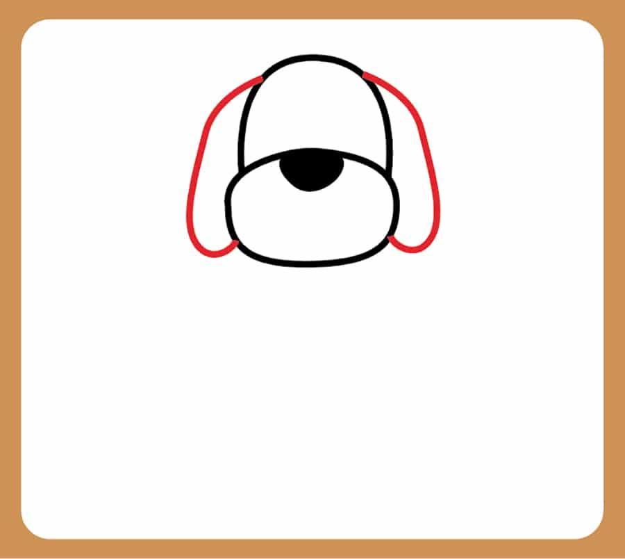 آموزش تصویری نقاشی سگ