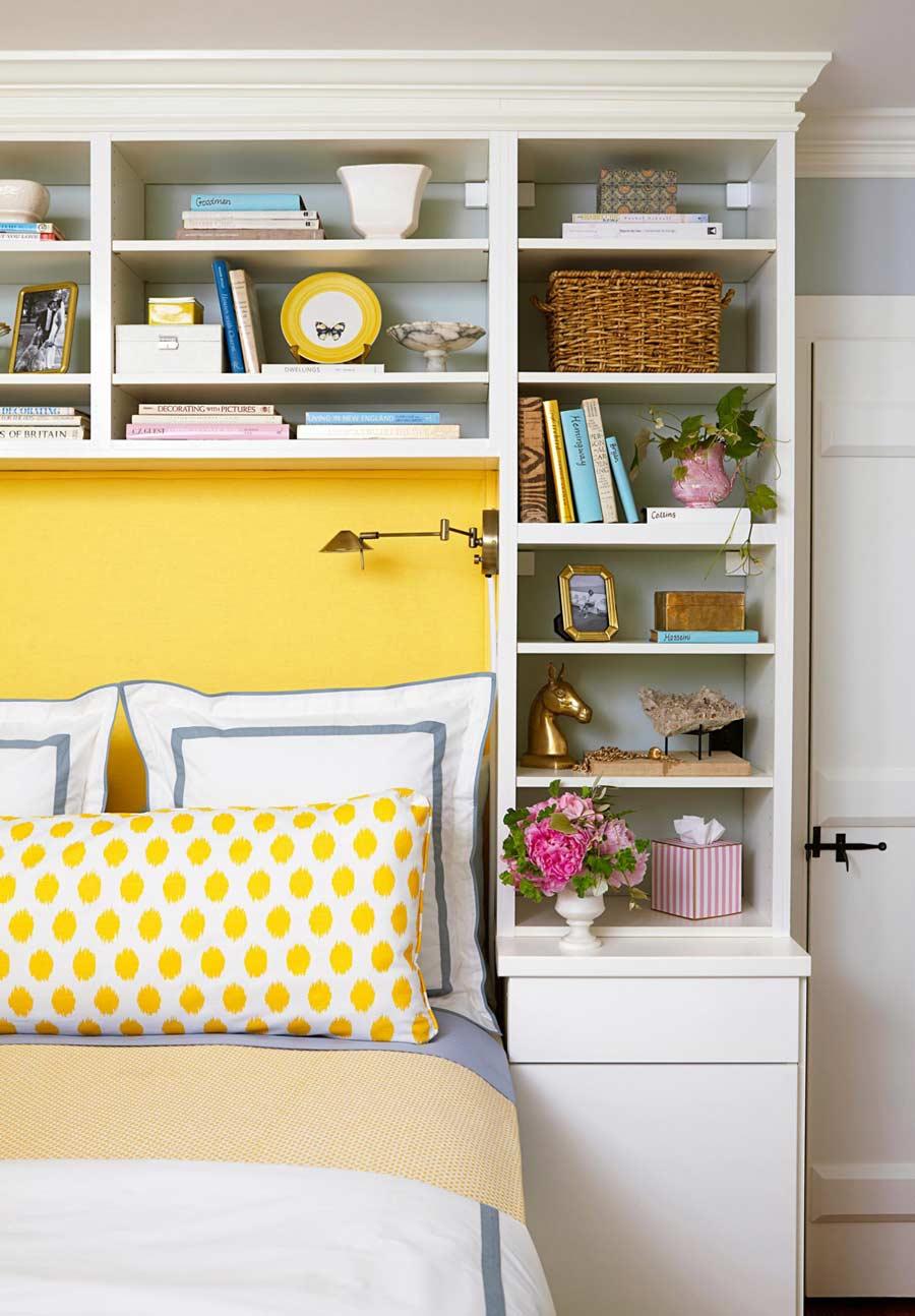 استفاده از تخت خواب چند منظوره در اتاق خواب کوچک