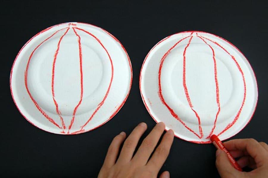 ساخت ماسک کدو تنبل