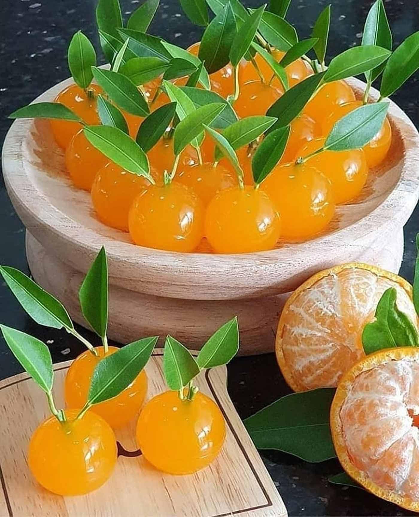 طرز تهیه ژله پرتقال