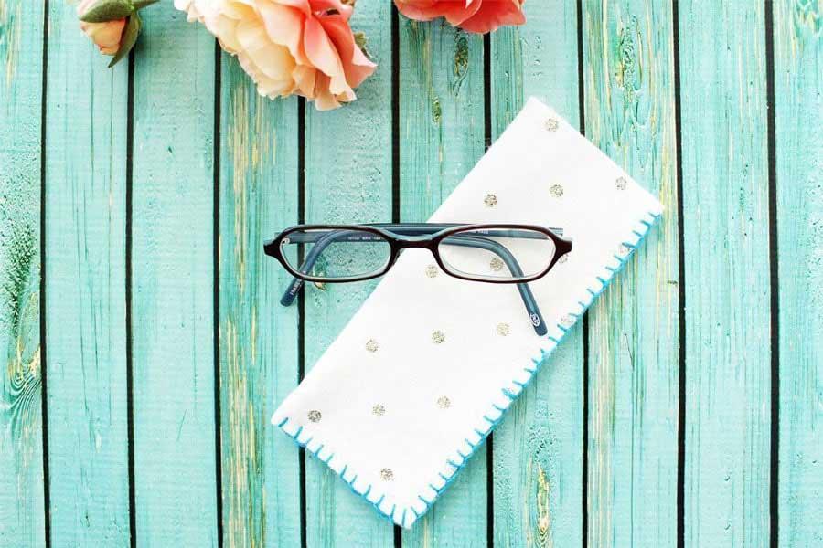 ساخت جا عینکی نمدی