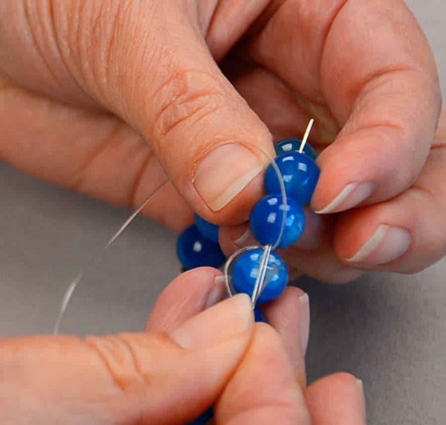ساخت دستبند با مهره با وسایل ساده