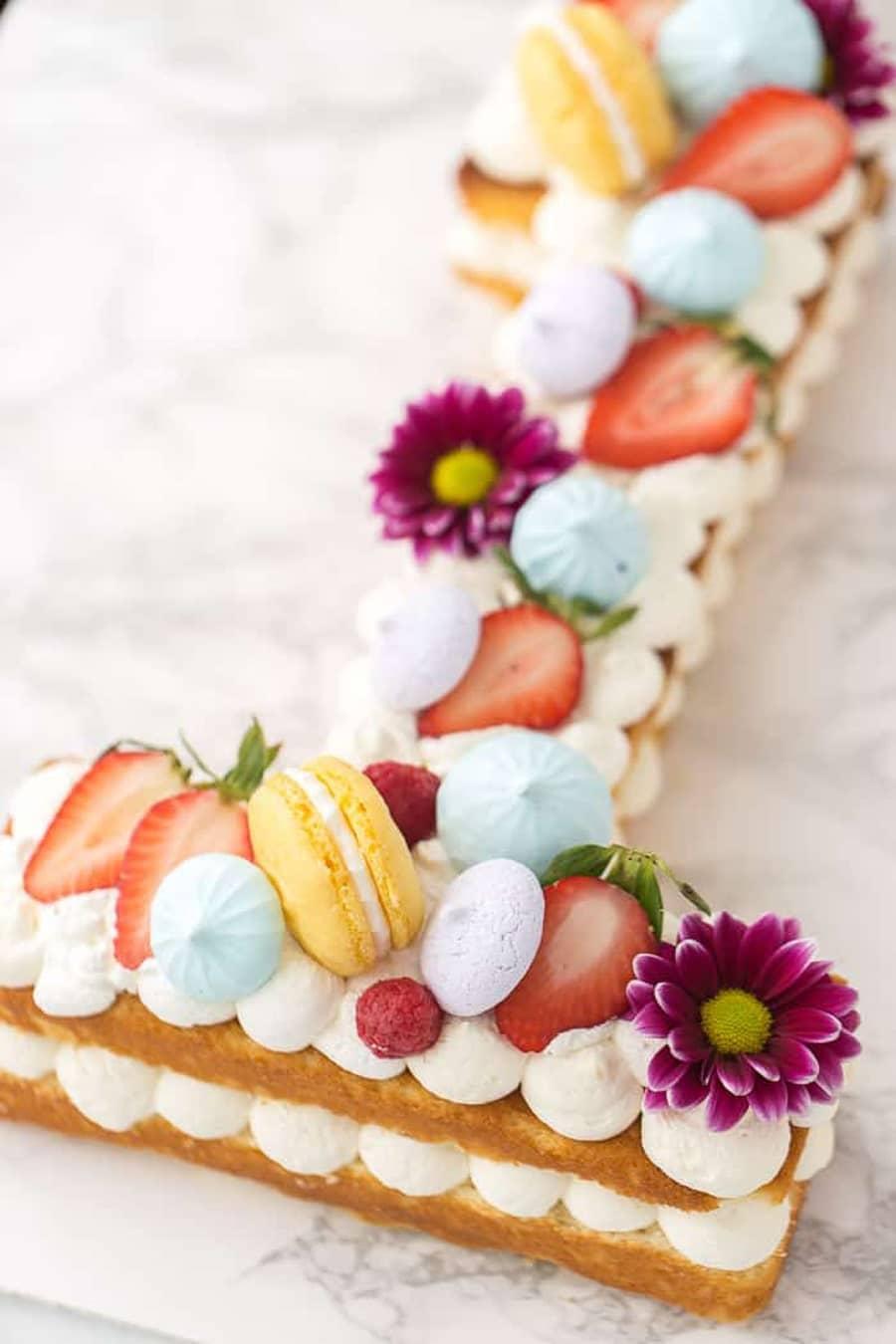 طرز تهیه کیک شماره ای یا عددی