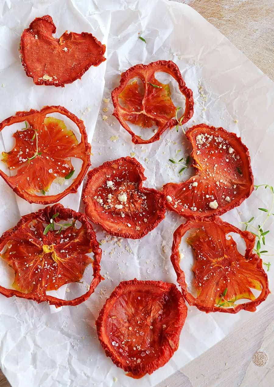 چیپس گوجه فرنگی