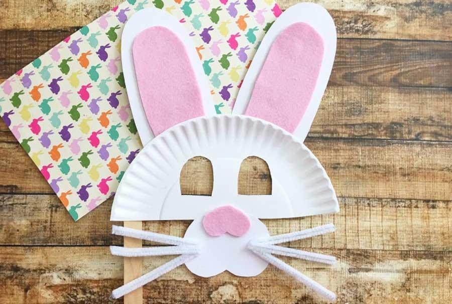 کاردستی ساخت ماسک خرگوش
