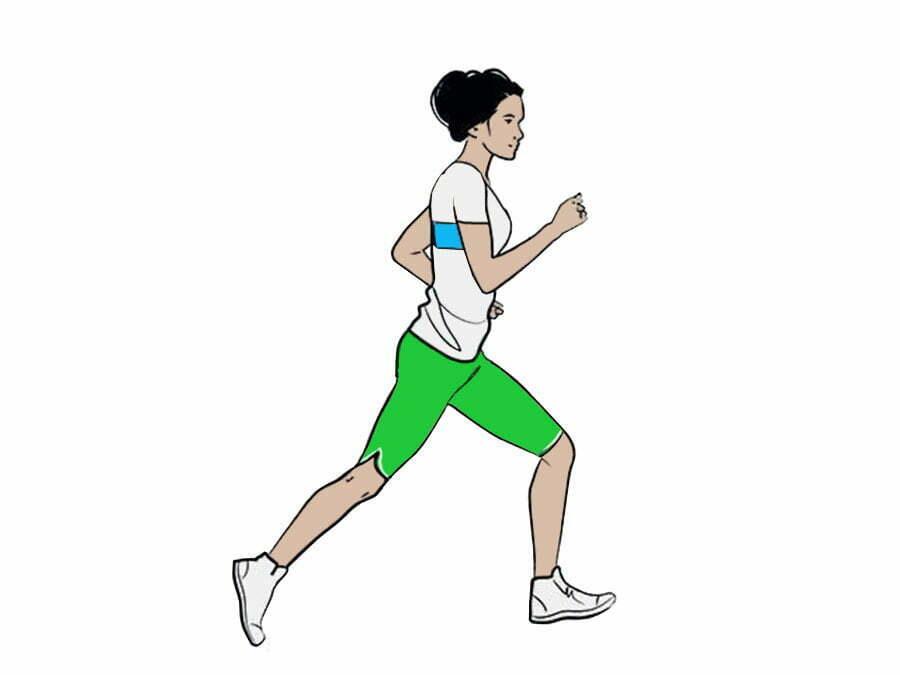 ورزش در پارک دویدن